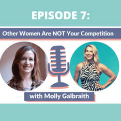 Thumbnail photo with Molly Galbraith, with title